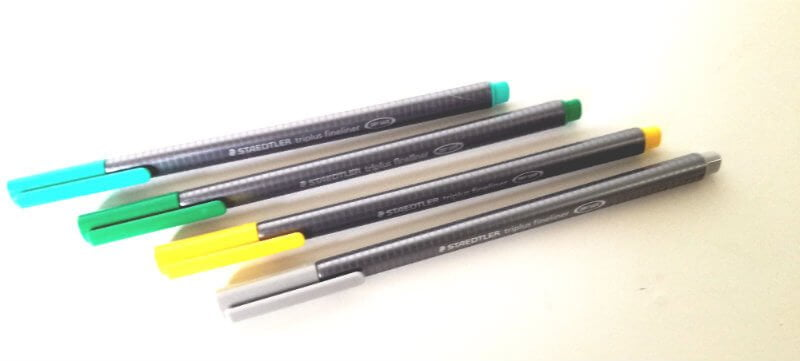staedler pennen fineliners