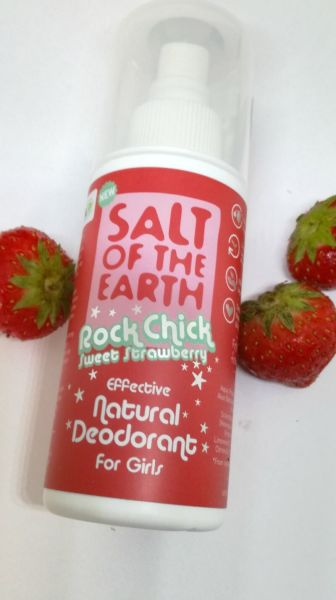 Salt Of The Earth Rock Chick Strawberry spray