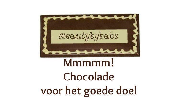 beautybybabs chocolade voor het goede doel