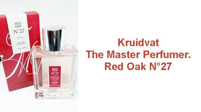 Kruidvat- The Master Perfumer. Red Oak N°27