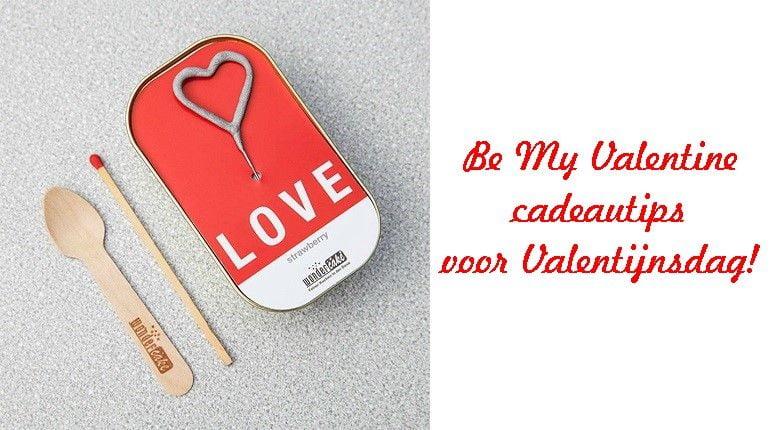 Be My Valentine- cadeautips voor Valentijnsdag! 9 valentine Be My Valentine- cadeautips voor Valentijnsdag!