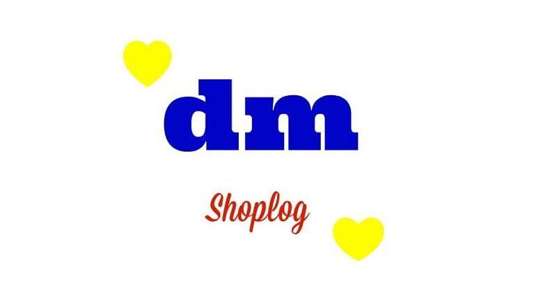 DM Drogist- Shoplog 11 DM DM Drogist- Shoplog shoplog