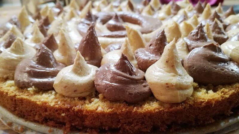 chocolade pindakaas taart (2)