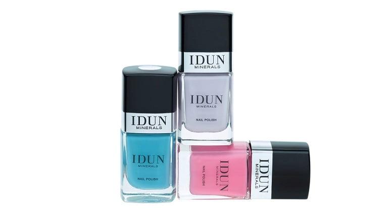 Veilig en verzorgend nagels lakken dankzij de '5-Free Formula' van IDUN Minerals Nail Polishes. 9 idun minerals Veilig en verzorgend nagels lakken dankzij de '5-Free Formula' van IDUN Minerals Nail Polishes.