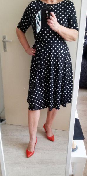 jurk stippen