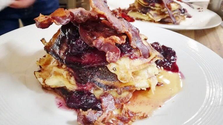 marley spoon pancakes met bacon