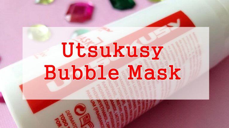 UTUSKUSY O2 BUBBLE MASK 10