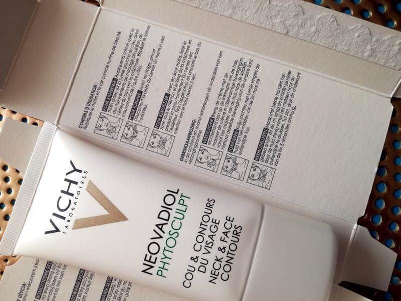 Vichy Neovadiol Phytosculpt- Pakt verslapping van je hals en kaaklijn aan- Review 7 vichy Vichy Neovadiol Phytosculpt- Pakt verslapping van je hals en kaaklijn aan- Review