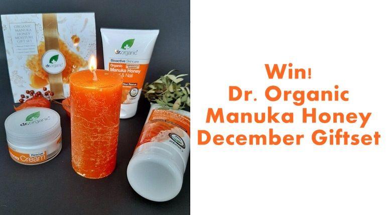Win! Dr. Organic Manuka Honey December Giftset 13 dr. organic Win! Dr. Organic Manuka Honey December Giftset Huidverzorging