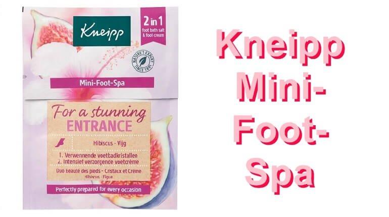Nieuw: Kneipp Mini- Foot- Spa- Voor mooie, verzorgde voeten 53 kneipp Nieuw: Kneipp Mini- Foot- Spa- Voor mooie, verzorgde voeten Merken