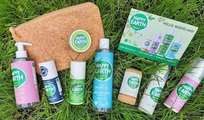 NIEUW: HAPPY EARTH! HELLO NATUURLIJKE VERZORGING MET EEN GLIMLACH! 7 happy earth NIEUW: HAPPY EARTH! HELLO NATUURLIJKE VERZORGING MET EEN GLIMLACH! deodorant
